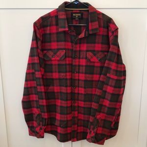 BILLABONG Red Plaid Jacket